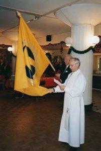 Aarne tallin lipun vihkiminen 1997